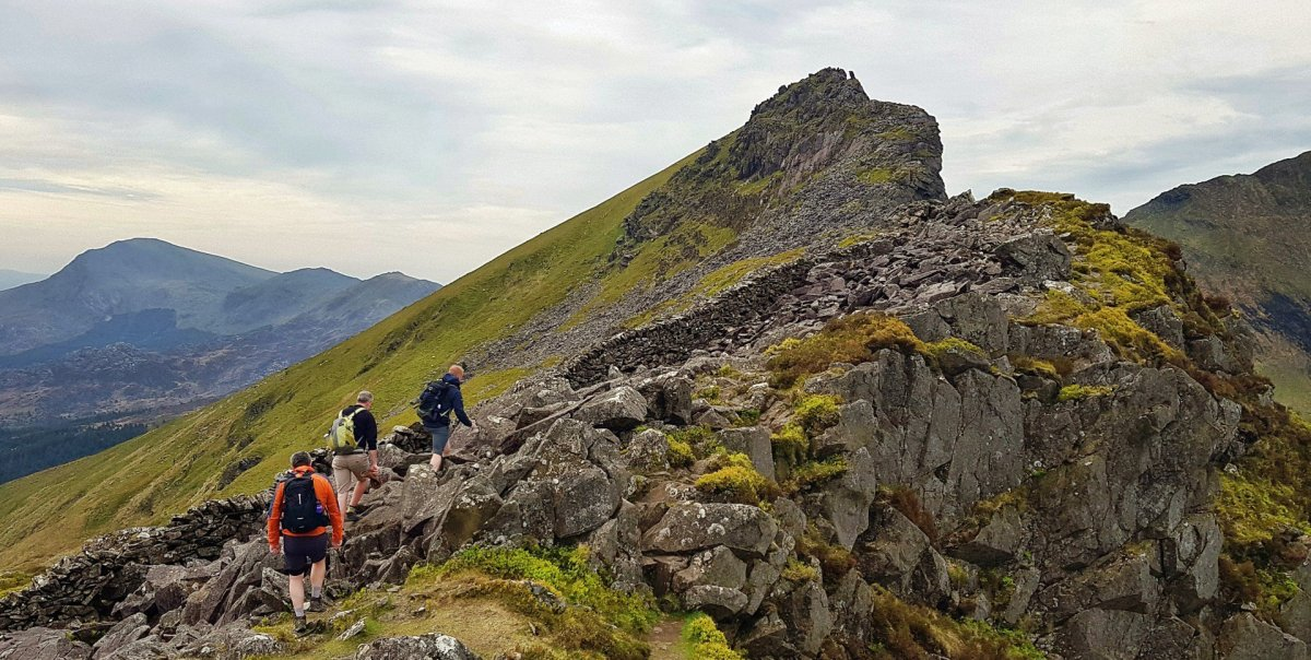 Best Mountain Walks in Snowdonia - Best Walks from the Welsh Highland Railway - Nantlle Ridge