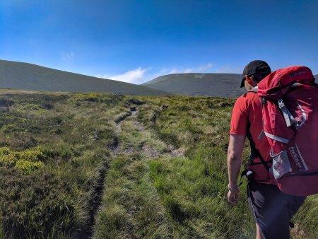 The Berwyn Range and Cwm Pennant from Llandrillo