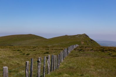 The Berwyn Range and Cwm Pennant from Llandrillo