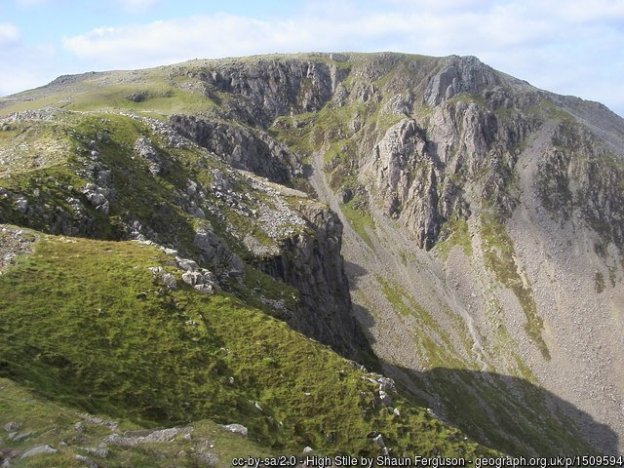 13 - High Stile - 12 - The Cheviot -The Highest Mountains In England - The Top 25