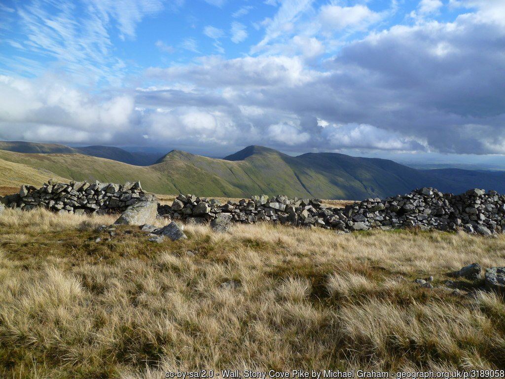 19 - Stony Cove Pike -The Highest Mountains In England - The Top 25