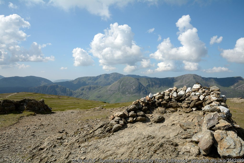 23 - Robinson -The Highest Mountains In England - The Top 25