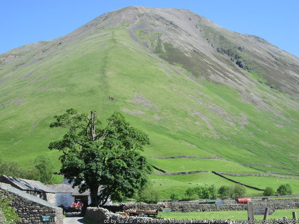 15 - Kirk Fell - The Highest Mountains In England - The Top 25