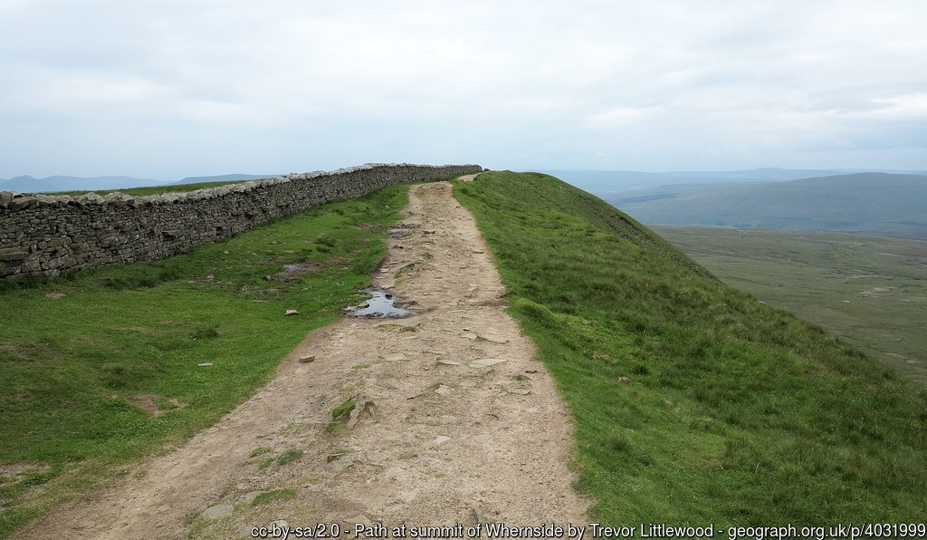 25 Whernside -The Highest Mountains In England - The Top 25