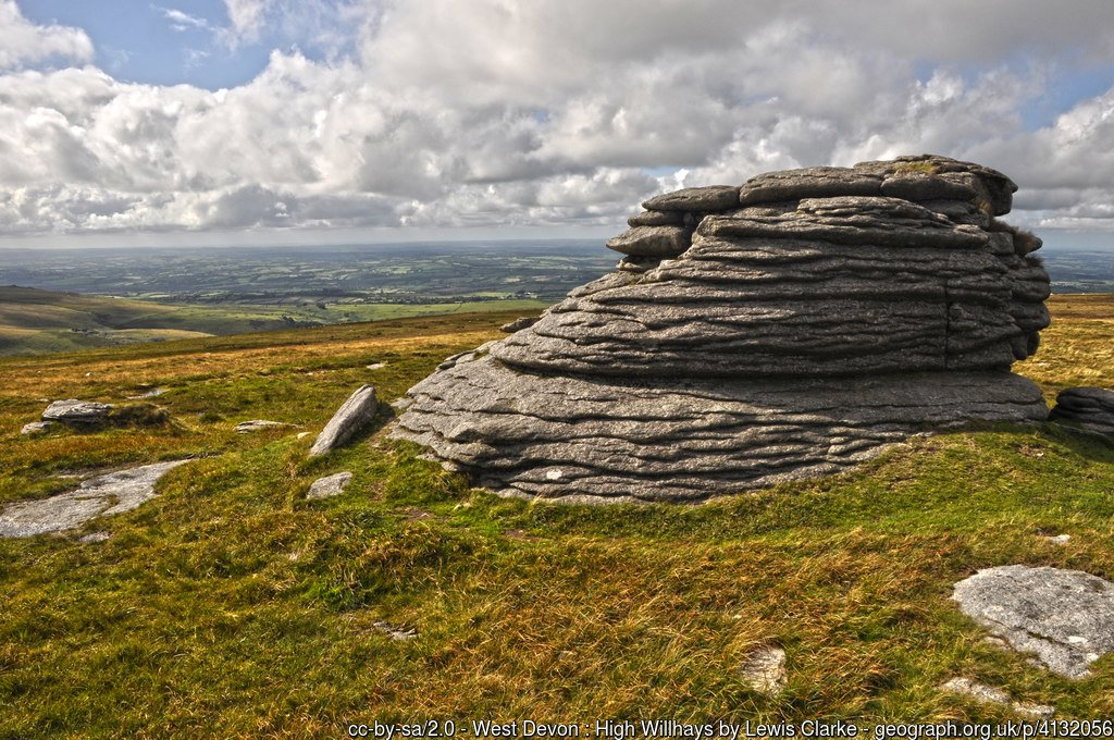 49 - High Willhays - The Highest Mountains In England - The Top 25