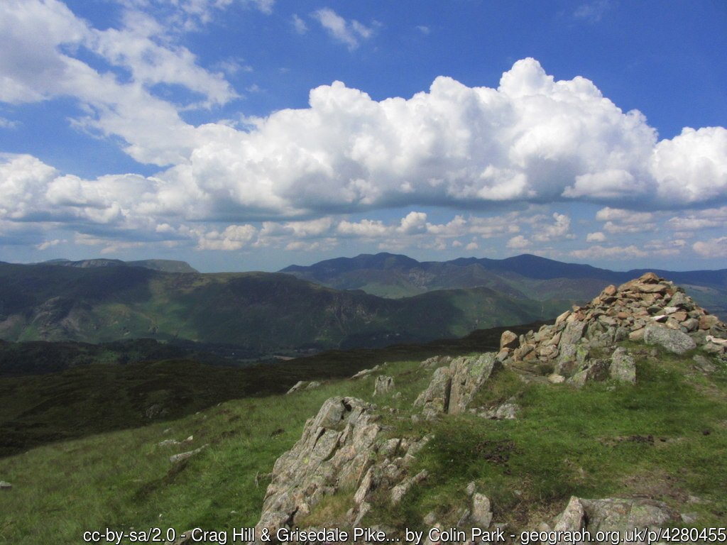 16 - Grisedale Pike -The Highest Mountains In England - The Top 25