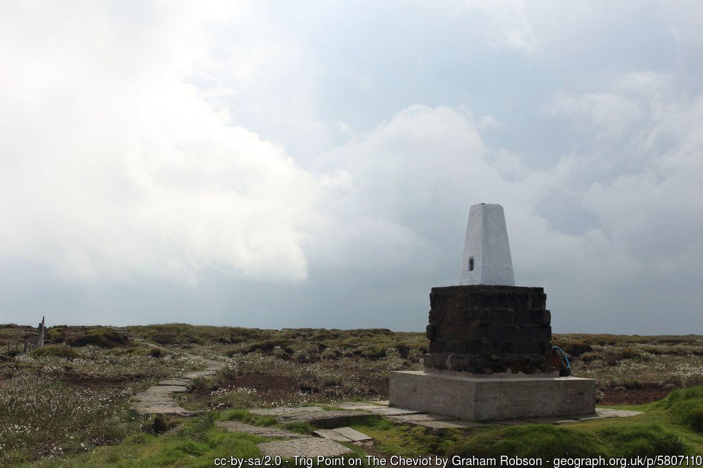 12 - The Cheviot -The Highest Mountains In England - The Top 25