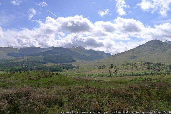 Walk up An Caisteal and Beinn a'Chroin from Crianlarich