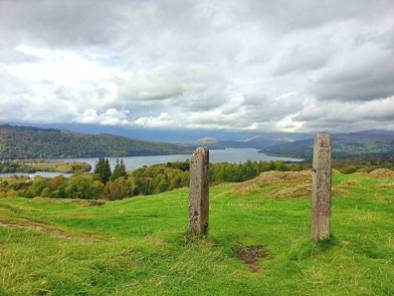 Easy Walk up Brant Fell from Bowness on Windemere