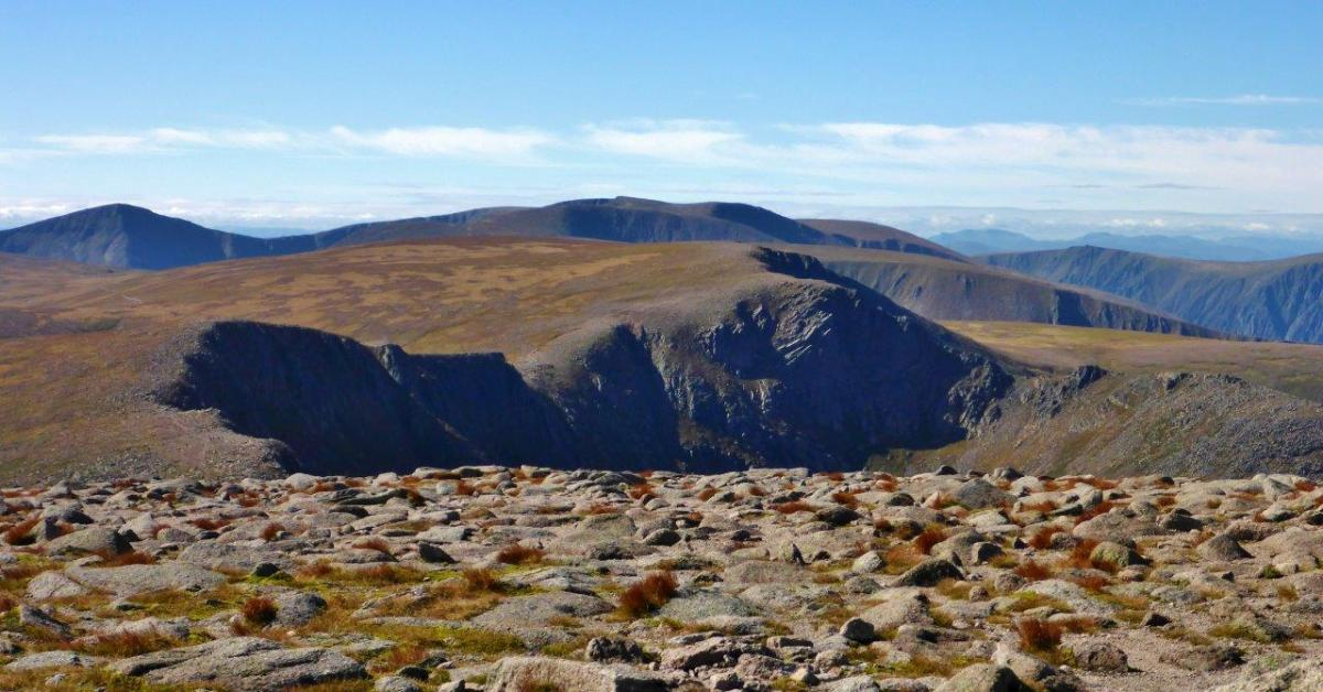 Walk up Cairn Gorm from Coire Ciste Car Park