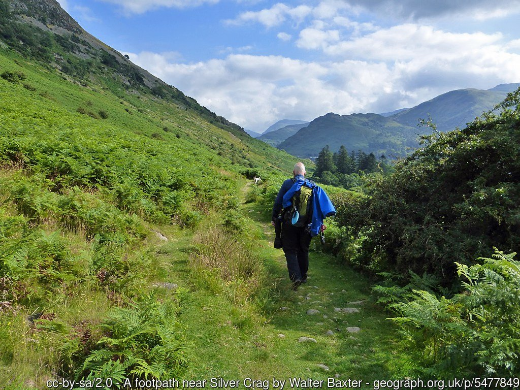 Ullswater Bridlweway Easy Walk from Patterdale