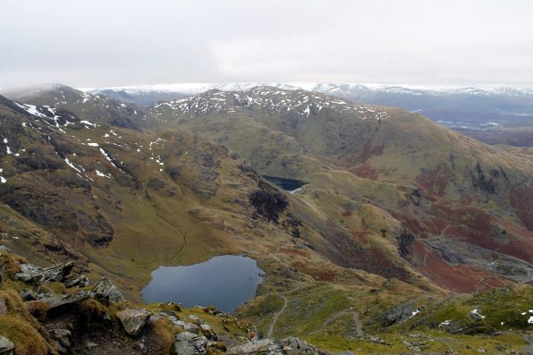 Walk up Old Man of Coniston from Coniston via Church Beck
