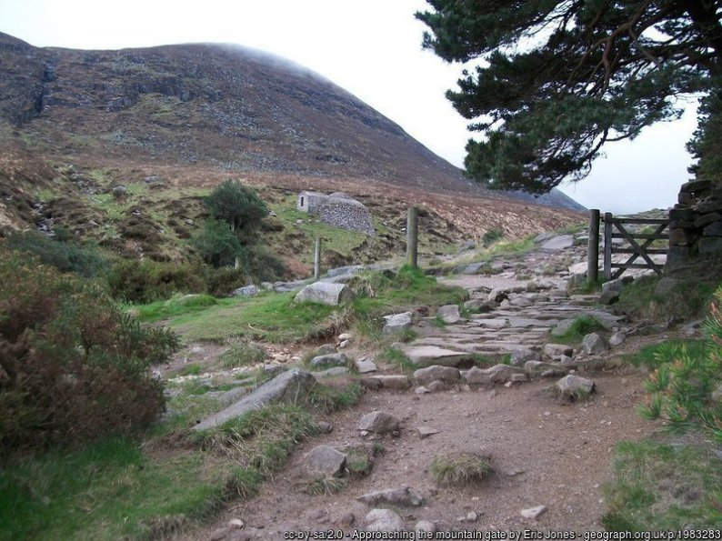 Walk up Slieve Donard from Newcastle