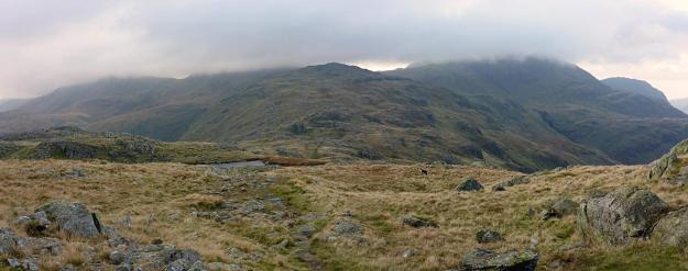 Walk up Glaramara and Allen Crags from Seathwaite