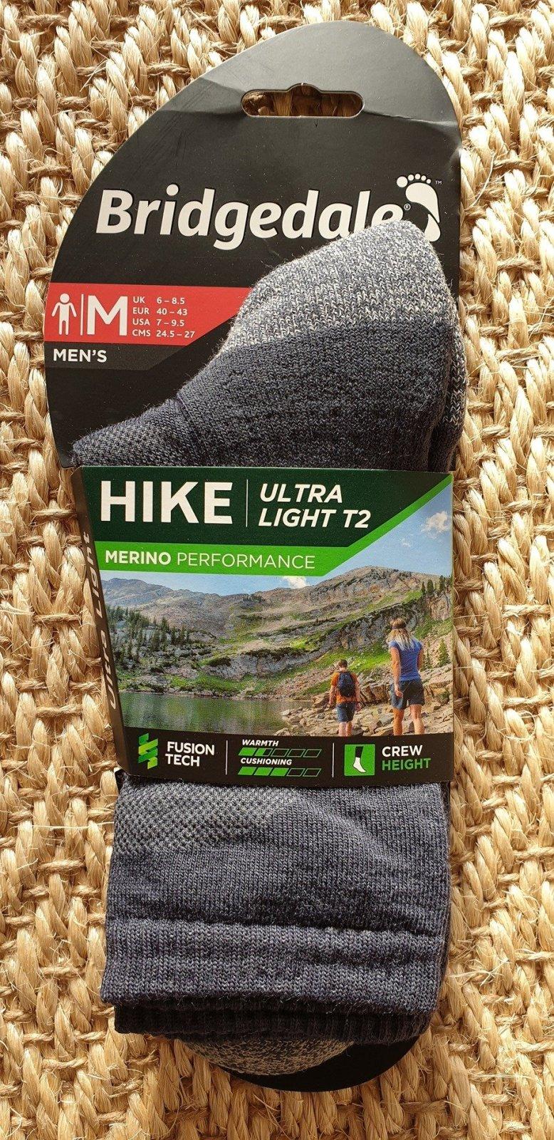 Bridgedale Hike Ultra Light T2 sock Review
