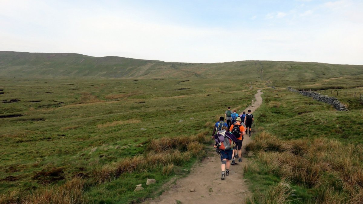 Walk up Whernside from Ribblehead