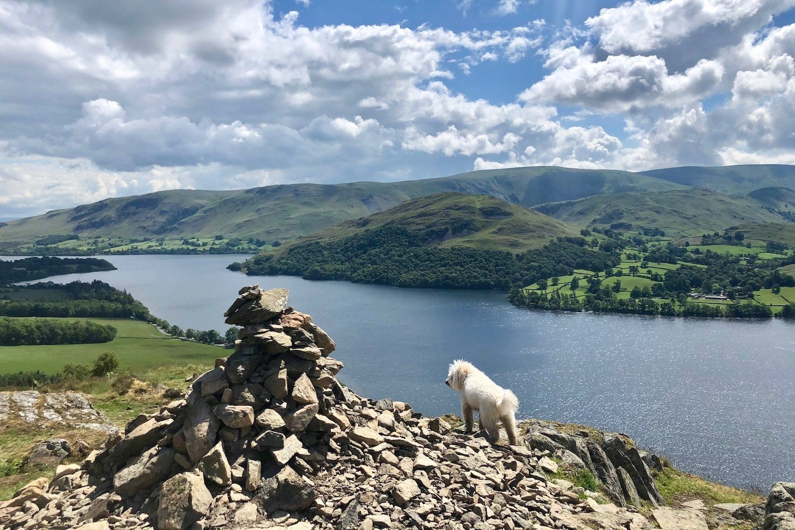 The Ullswater Way - Pooley Bridge to Aira Force