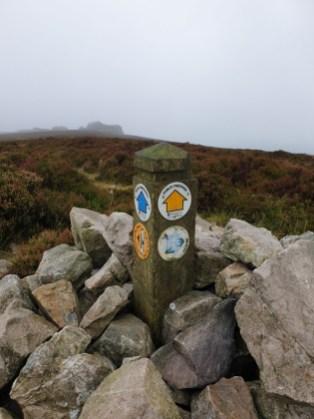 Walk up Stiperstones – Manstone Rock & Devils Chair from The Bog
