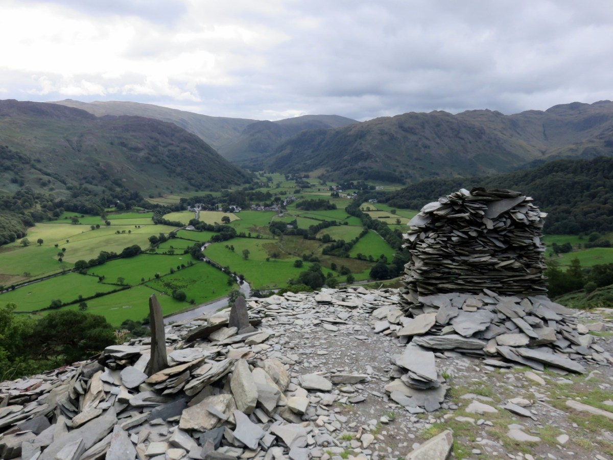 Walk to Castle Crag from Rosthwaite