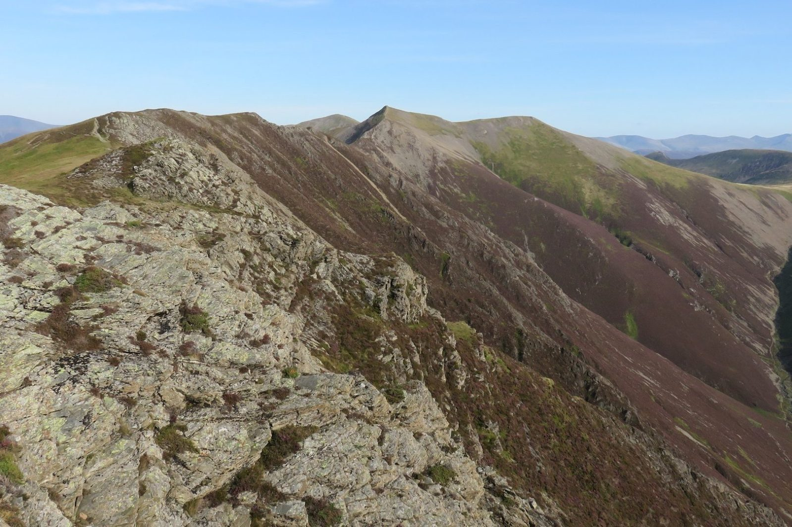 Grasmoor and Rannerdale Knotts Walk from Buttermere