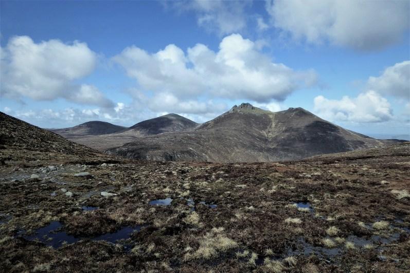 Walk up Slievelamagan and Slieve Binnian
