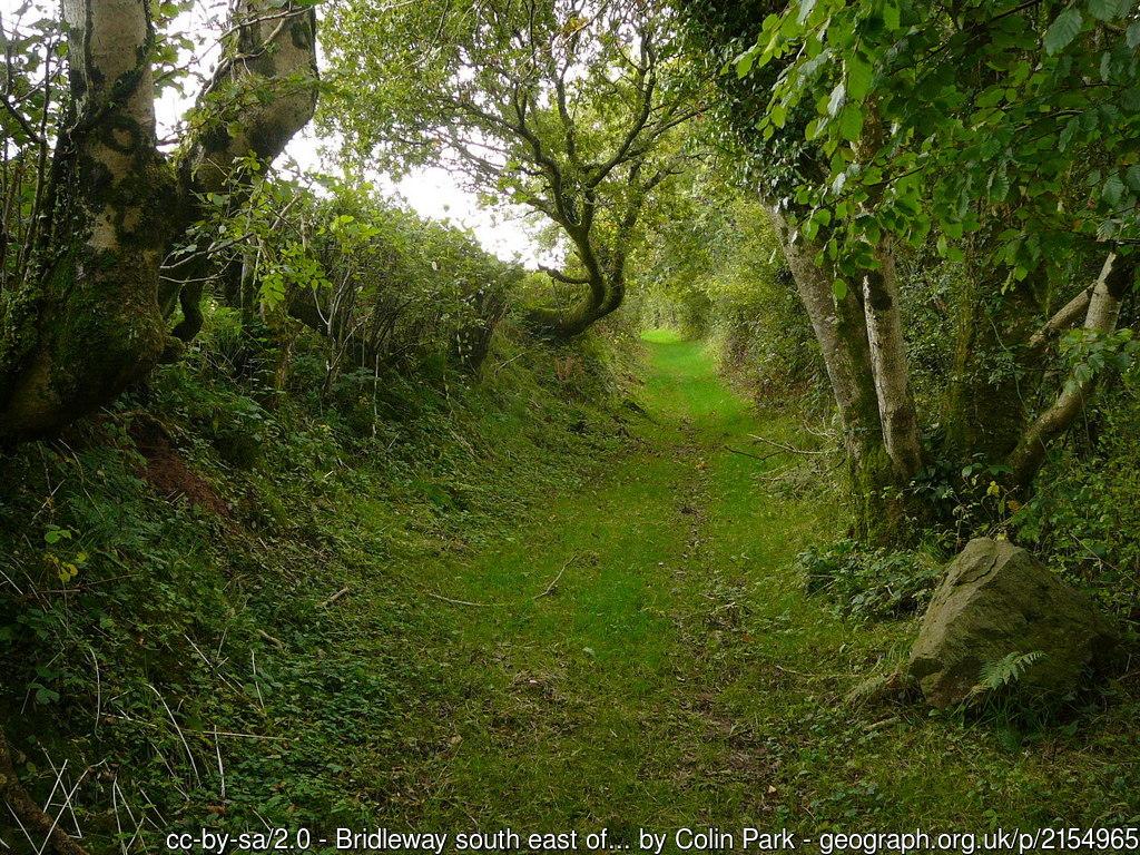 Bridleway south east of Lampeter Velfrey