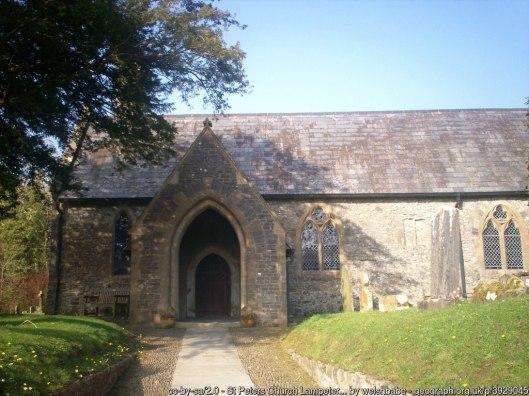 St Peters Church Lampeter Velfrey