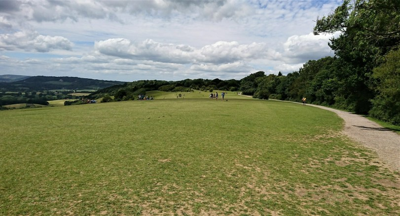 North Downs Way from Merstham to Betchworth via Reigate Hill