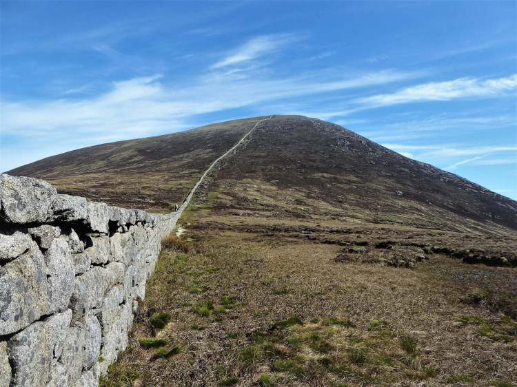 10.4 Donard Chimney Rock Mountain via Carr's Face Quarry