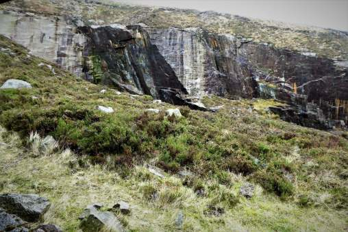12.1 Chimney Rock Mountain via Carr's Face Quarry