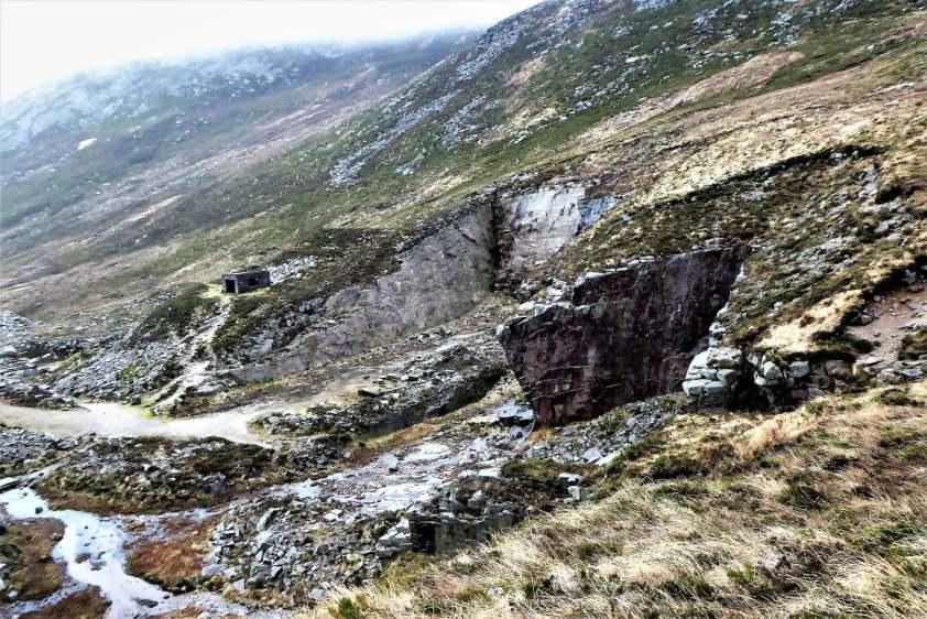 12.3 Chimney Rock Mountain via Carr's Face Quarry