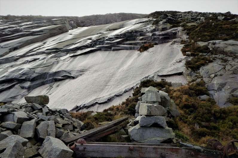 5.4 Chimney Rock Mountain via Carr's Face Quarry