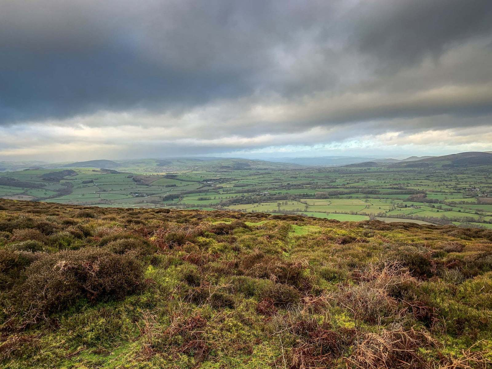 Walk up Knolls - Long Mynd Shropshire Walk