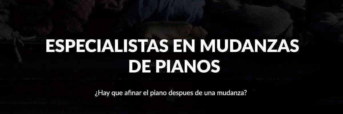 Especialistas en Mudanzas y traslados de pianos