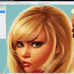 How To Digitally Paint Hair Muddy Colors