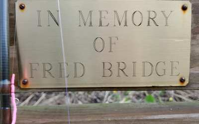 A fitting tribute to Fred Bridge
