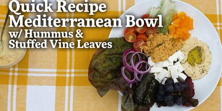How to Make a Mediterranean Bowl