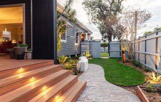 Filleti paving backyard path