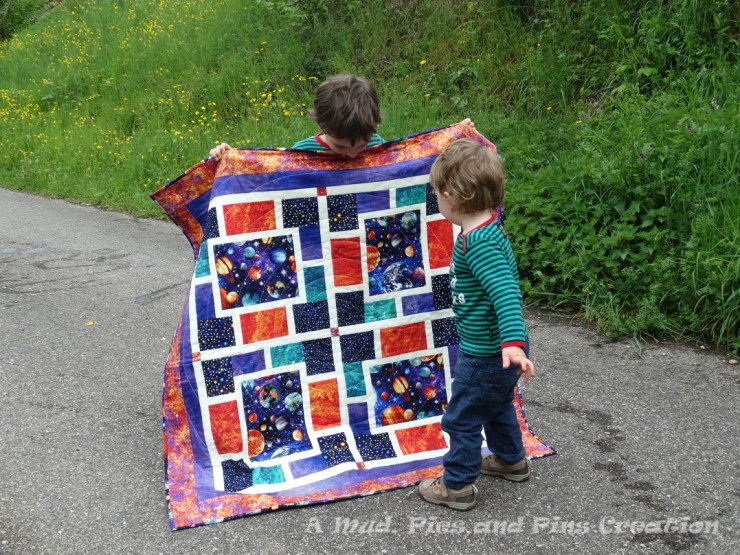 """""""Out of This World"""" quilt 