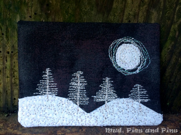 """By Moonlight"" Fabric ATC 