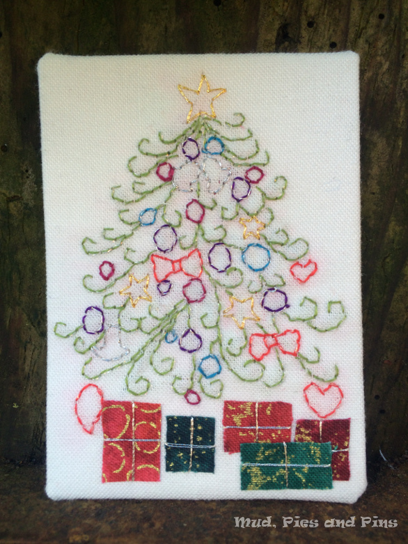 """""""Under the Tree"""" Fabric ATC   Mud Pies and Pins"""