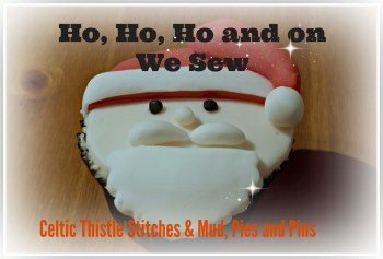 Ho Ho Ho button photo