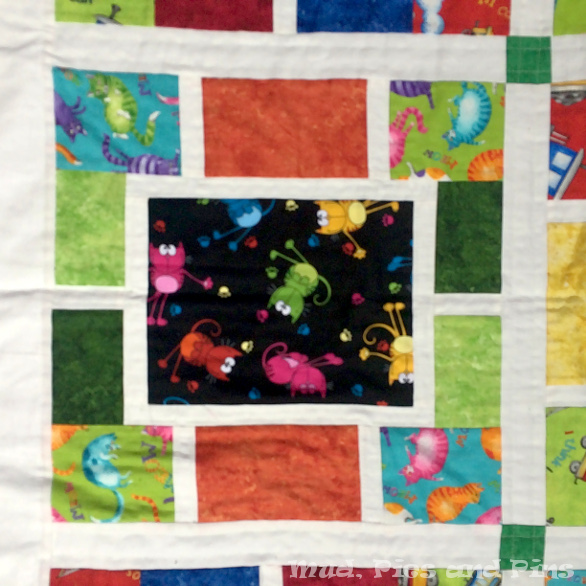 Cats in Space Boy's Quilt | Mud, Pies and Pins