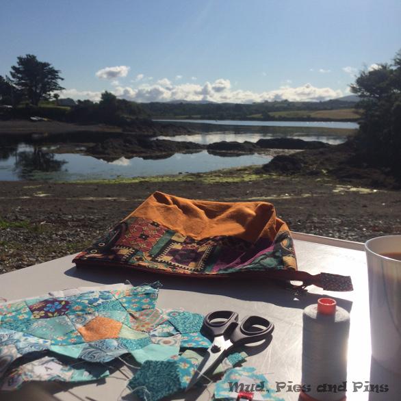 Summer Pillow  Swap   Mud, Pies and Pins
