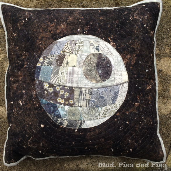 Liberty Death Star Pillow | Mud, Pies and Pins