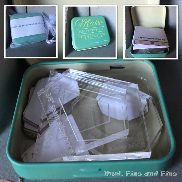 EPP kit in a tin | Mud, Pies and Pins