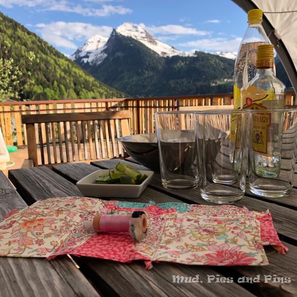 Gin o'clock at Peaks 13| Mud, Pies and Pins