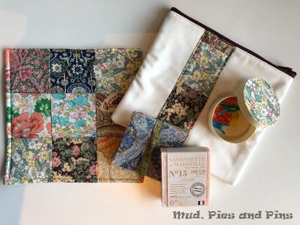 Secret sister gifts, Peaks 13  Mud, Pies and Pins