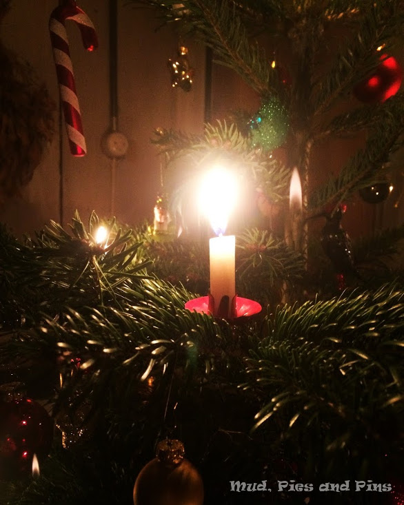 Candle on the Christmas Tree | Mud, Pies and Pins