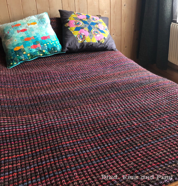 Knitted blanket | Mud, Pies and Pins